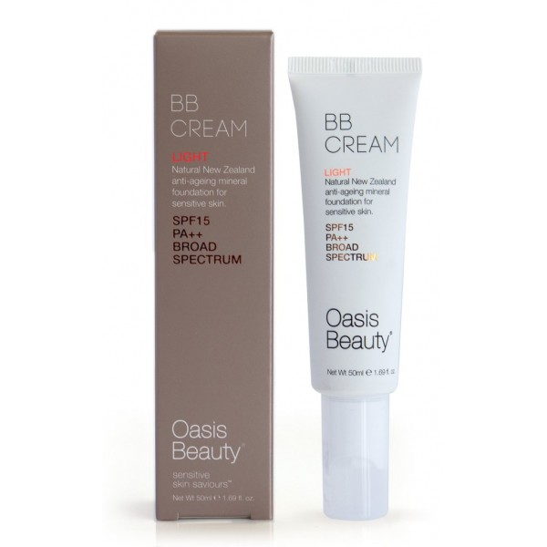 Oasis Beauty BB Cream SPF15 Light Shade 50ml
