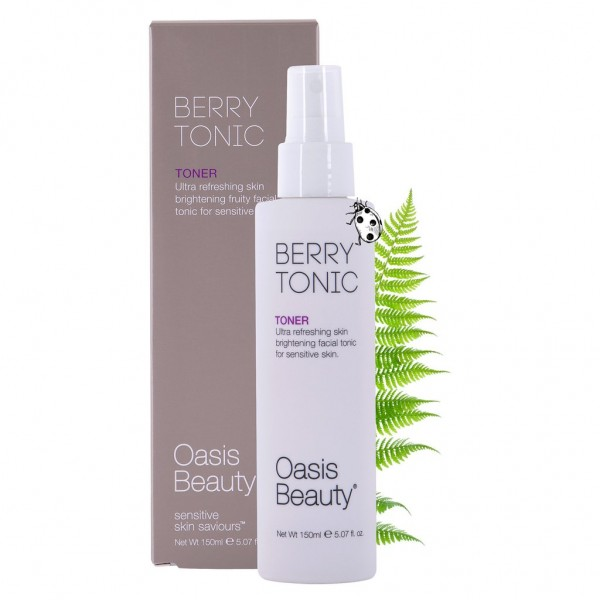 Oasis Beauty Berry Tonic Skin Brightening Facial Toner 150ml