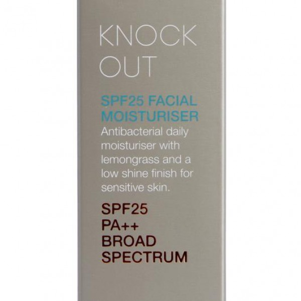 Oasis Beauty Knock Out SPF25 Facial Moisturiser 50ml