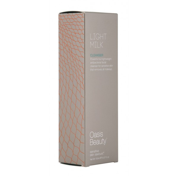 Oasis Beauty Light Milk Facial Cleanser 150ml