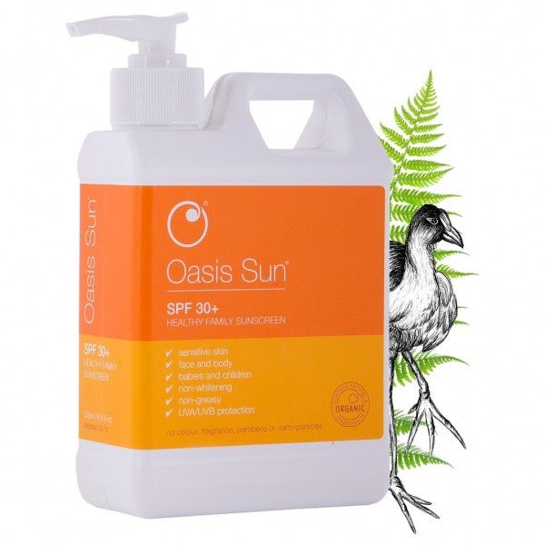 Oasis Sun SPF 30 Sunscreen 500ml