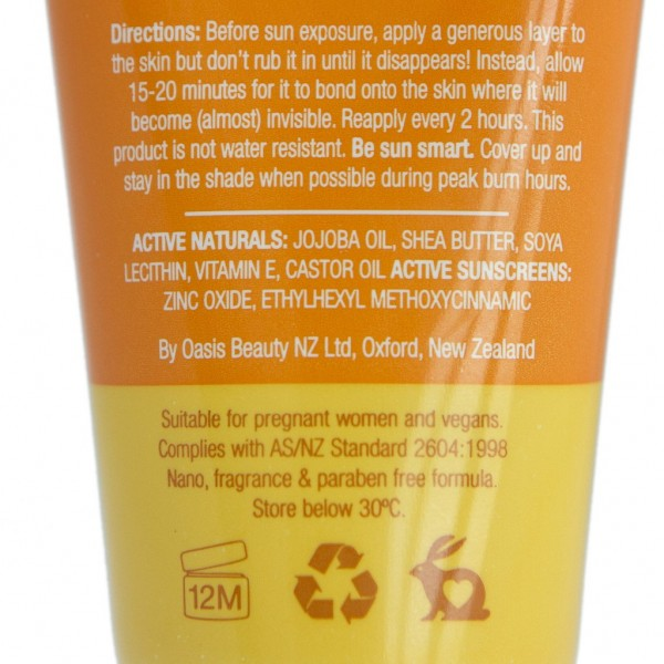 Oasis Sun SPF 30 Sunscreen 50ml