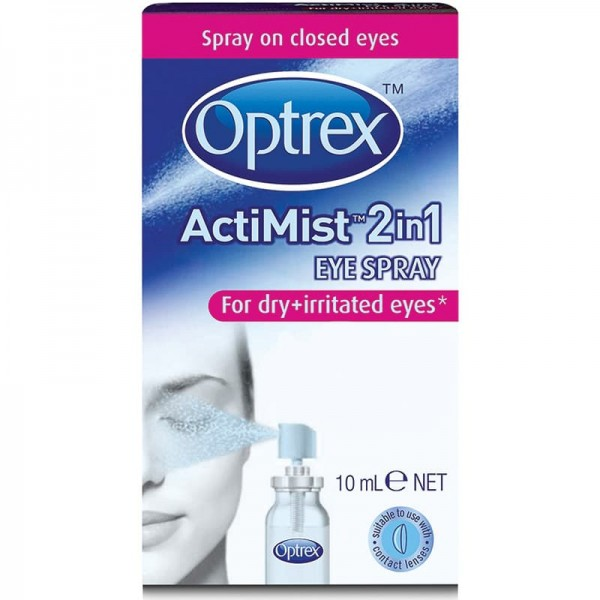 Optrex ActiMist 2 in 1 Eye Spray (for dry and irritated eyes)