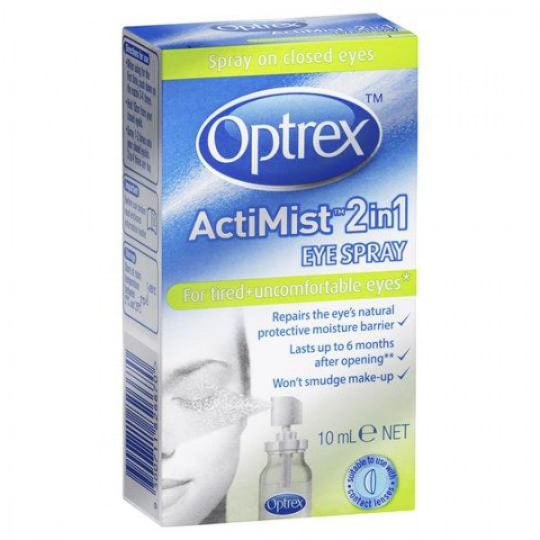 Optrex ActiMist 2 in 1 Eye Spray (for tired and uncomfortable eyes)