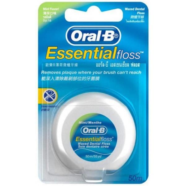 Oral B Essential Floss Mint 50m