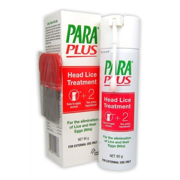 Para Plus Head lice Treatment Spray 90g