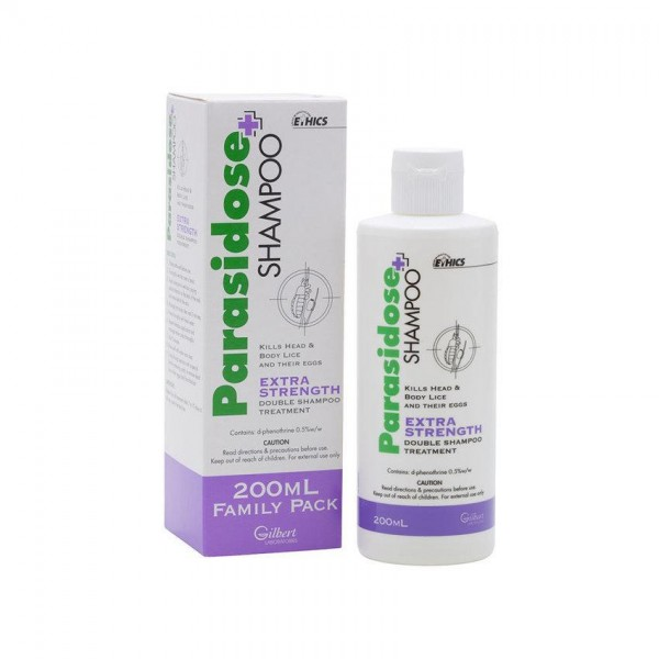 Parasidose Head Lice Shampoo 200ml