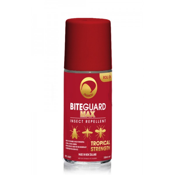 Pharmexa BiteGuard Max Insect Repellent Tropical Roll On 150ml
