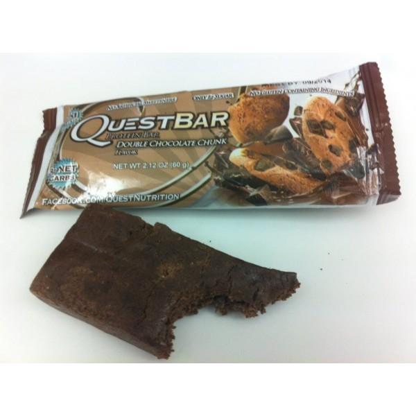 Quest Protein Bar (12 per box) - Double Chocolate Chunk