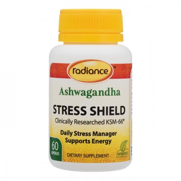 Radiance Ashwagandha Stress Shield 60 Capsules