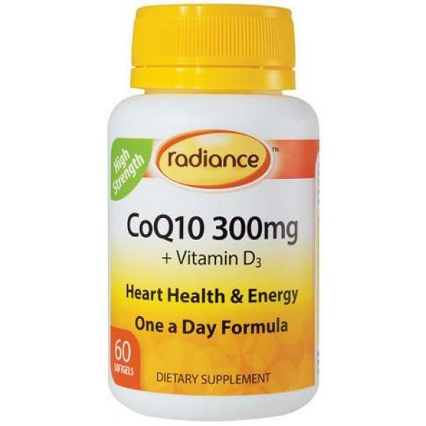 Radiance CoQ10 300mg 60 Capsules