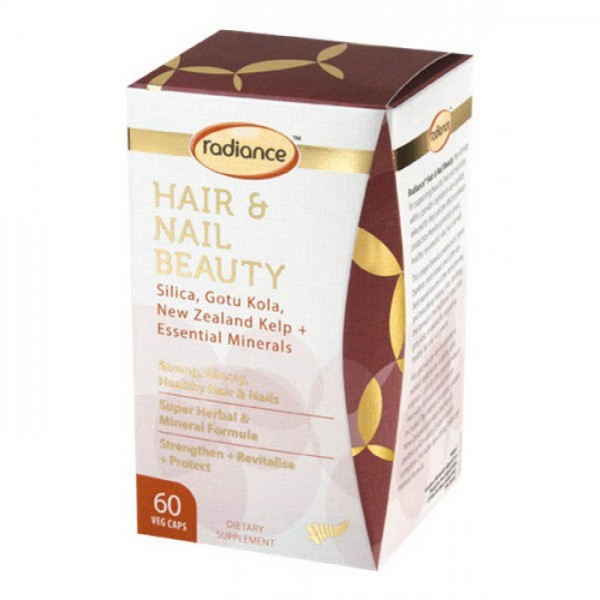 Radiance Hair & Nail Beauty 60 Capsules