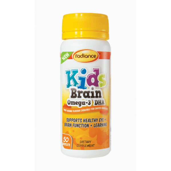 Radiance Kids Brain Omega 3 DHA 50 Burstlets