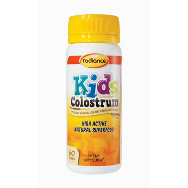 Radiance Kids Colostrum Chewable 60 Tablets