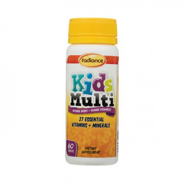 Radiance Kids Multi 60 Tablets