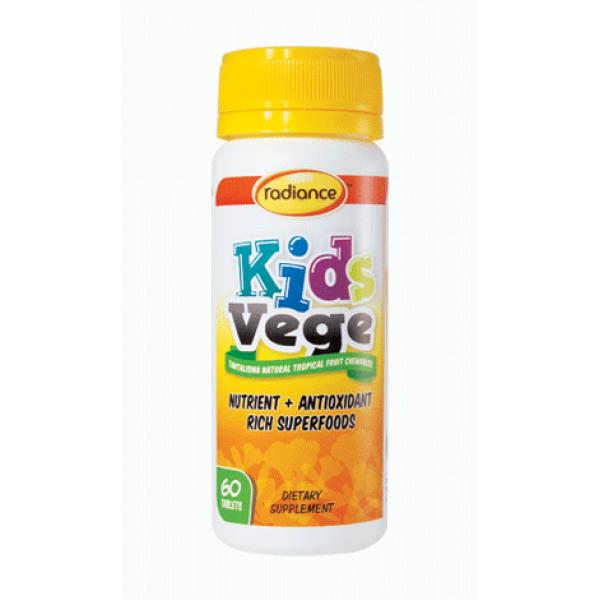 Radiance Kids Vege Chewable 60 Tablets