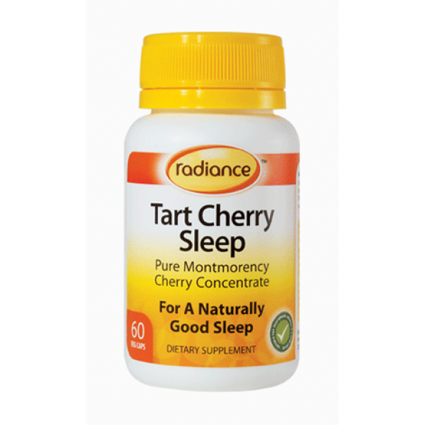 Radiance Tart Cherry Sleep 60 VegeCaps