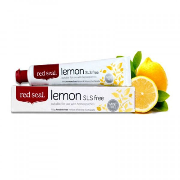 Red Seal Lemon Toothpaste No SLS 100g