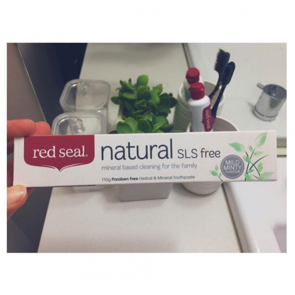 Red Seal Natural Toothpaste No SLS 110g