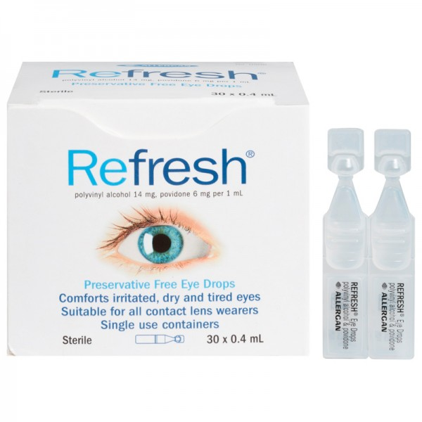 Refresh Eye Drops 30x0.4ml