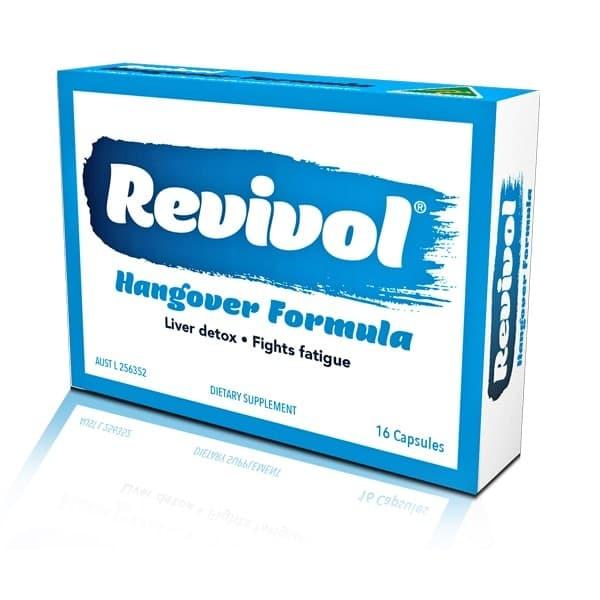 Revivol Hangover Formula 16 Capsules