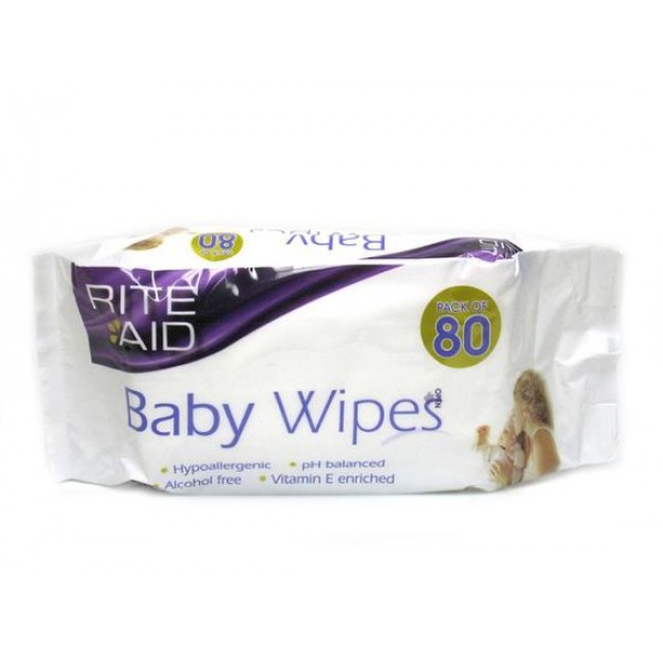 Rite Aid Baby Wipes 80s