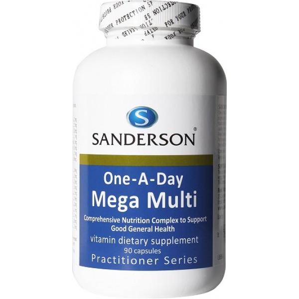 Sanderson Mega Multivitamin 90 Capsules