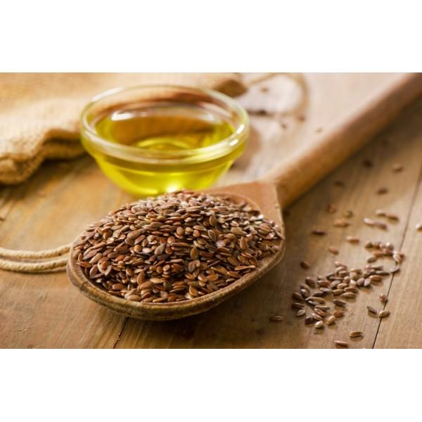 Sanderson Premium Organic Flax Seed Oil 1000mg 300 Capsules