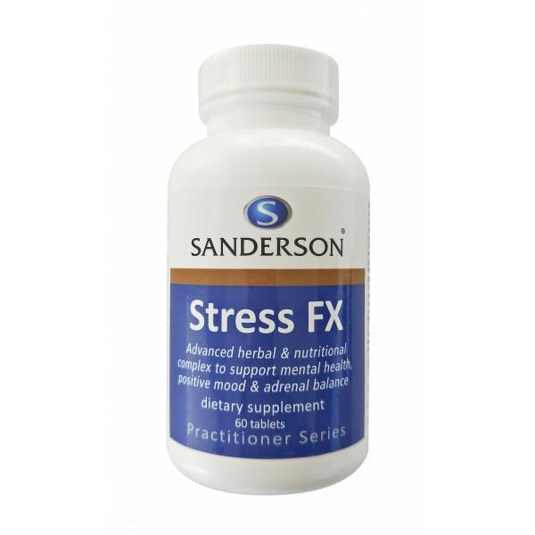 Sanderson Stress FX 60 Tablets