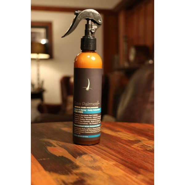 Saw Palmete Men's Leave-In Spray Herbal Hair Volumiser 250ml