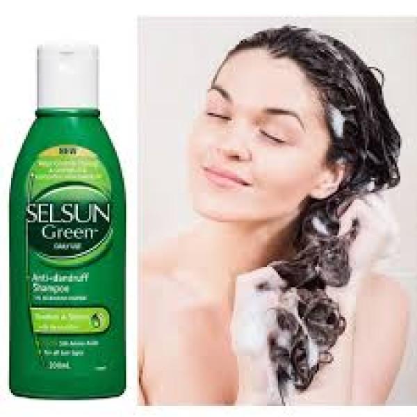 Selsun Green Daily Use Anti-Dandruff Shampoo 200ml