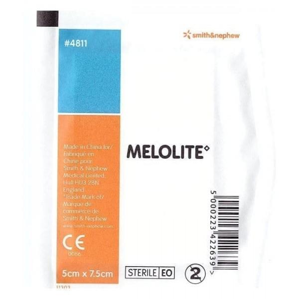 Smith & Nephew Melolite Dressing 5cmx7.5cm Single Unit