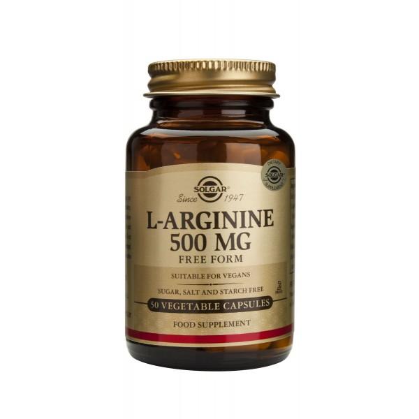Solgar L-Arginine 500mg Capsules