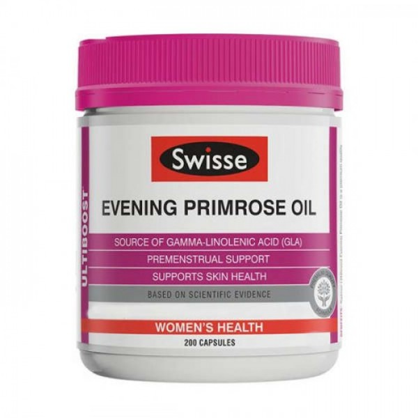 Swisse Evening Primrose Oil EPO 200 Capsules
