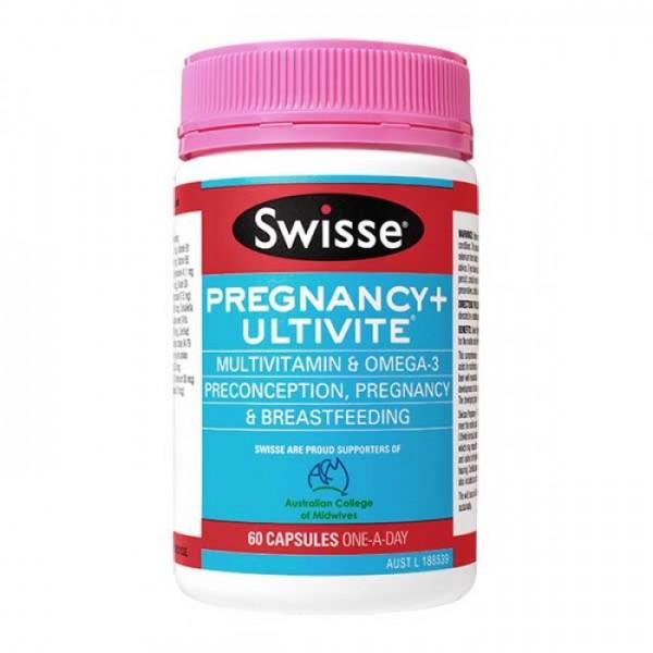 Swisse Pregnancy + Ultivite 60 Capsules
