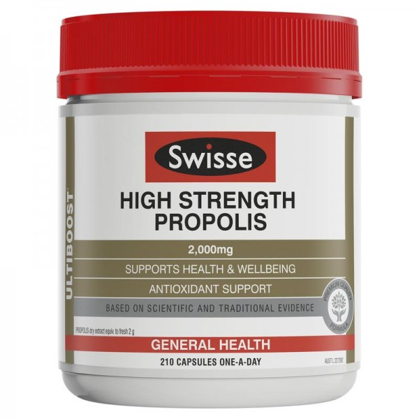 Swisse High Strength Propolis 2000mg 210 Capsules