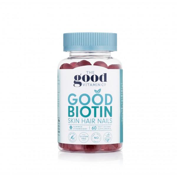 Good Vitamin Adult Good Biotin Skin Hair Nails 60 Gummies