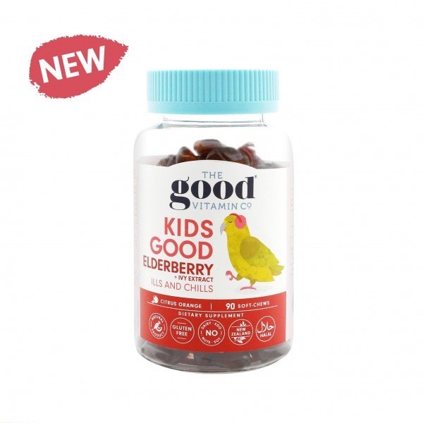 Good Vitamin Kids Good Elderberry 90 Gummies