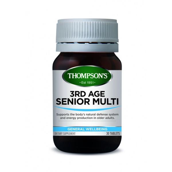 Thompson's 3rd Age Senior Multi 30 Tablets