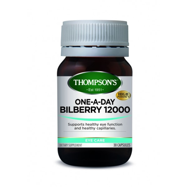 Thompson's Bilberry 30 Capsules