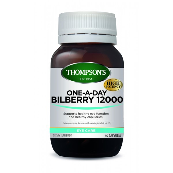 Thompson's Bilberry 60 Capsules