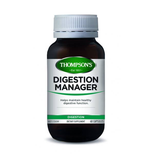 Thompson's Digestion Manager 60 Capsules (Product Discontinued)