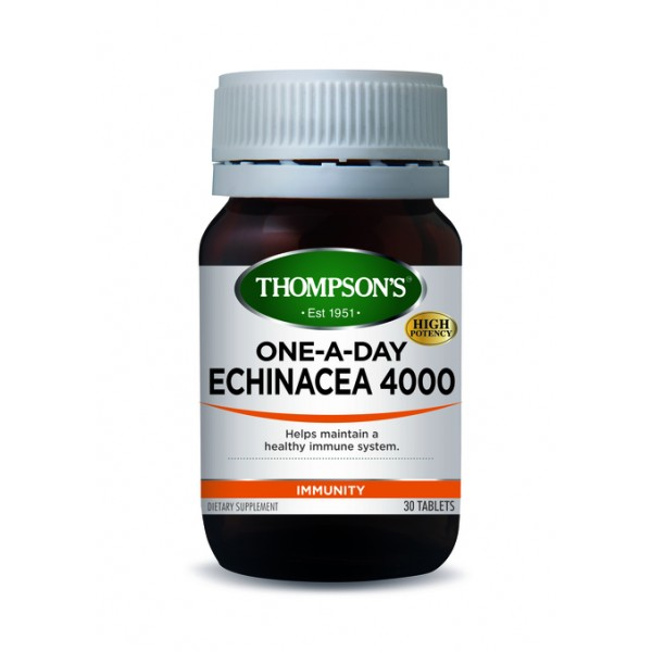Thompson's Echinacea 4000 One-A-Day 30 Tablets