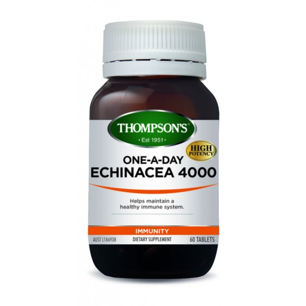 Thompson's Echinacea 4000 One-A-Day 60 Tablets