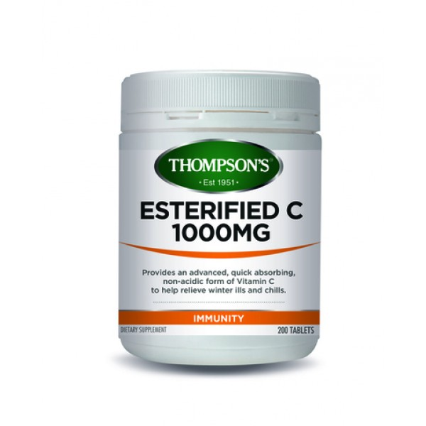 Thompson's Esterified C 1000mg 200 Tablets (Product Discontinued)