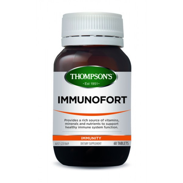 Thompson's Immunofort One-A-Day 60 Tablets