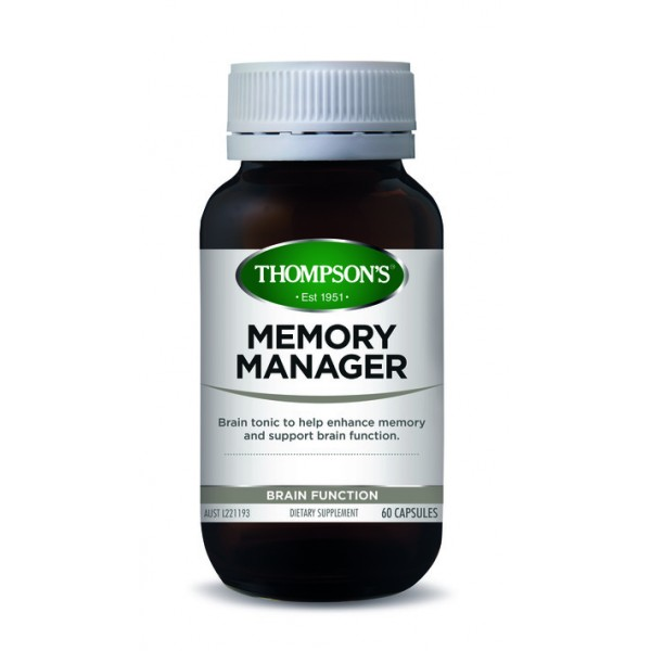 Thompson's Memory Manager 60 Capsules