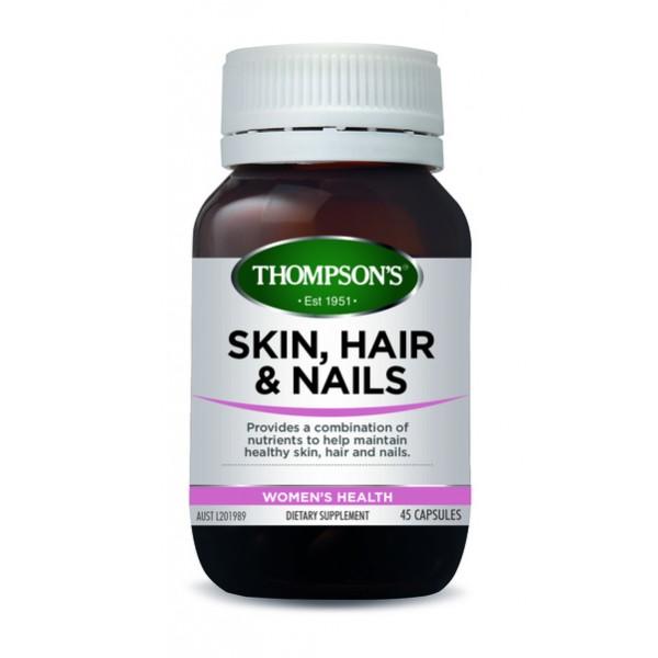 Thompson's Skin, Hair & Nails 45 Capsules