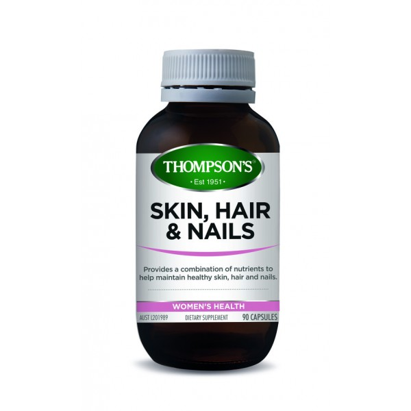 Thompson's Skin, Hair & Nails 90 Capsules