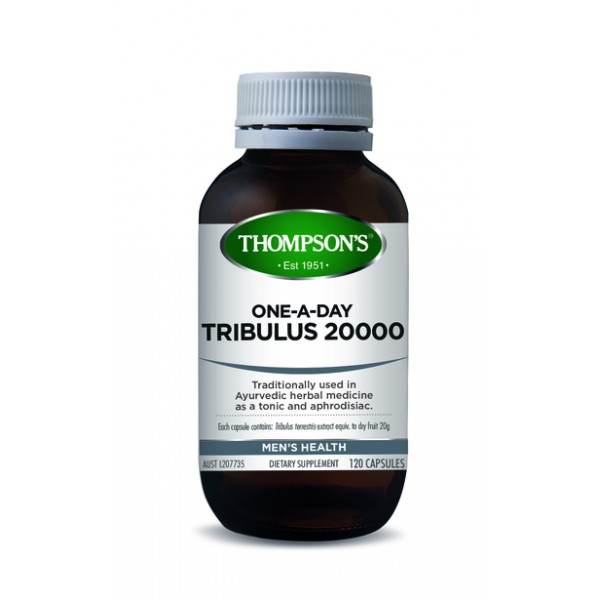 Thompson's Tribulus 20000 One-A-Day 120 Capsules